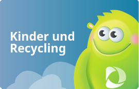 Kinder und Recycling